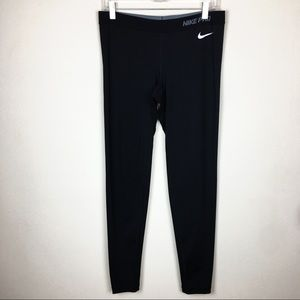 Nike Pro Large Black Workout Leggings